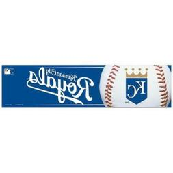 "Kansas City Royals 3""x12"" Bumper Strip Sticker MLB"