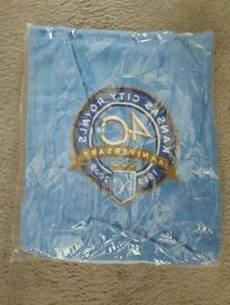 Kansas City Royals 40th Anniversary Towel with Bag Beach Tow