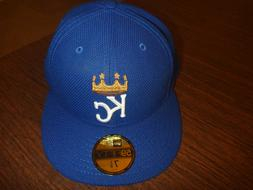 KANSAS CITY ROYALS NEW ERA 59FIFTY 2016 DIAMOND ERA BLUE FIT