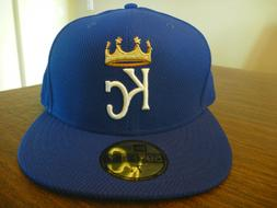 KANSAS CITY ROYALS NEW ERA 59FIFTY 2016 DIAMOND ERA BLUE FIT