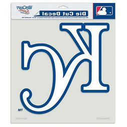 "Kansas City Royals 8""x8"" Die-Cut Auto Decal  MLB Car Sticker"