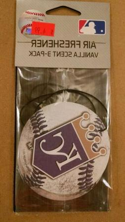 KANSAS CITY ROYALS AIR FRESHENER  VANILLA OR NEW CAR SCENT