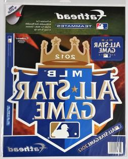 KANSAS CITY ROYALS ALL STAR GAME LOGO FATHEAD TEAMMATES WALL