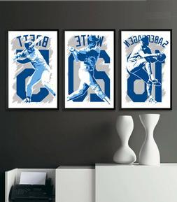 KANSAS CITY ROYALS art print/poster FAN PACK #1 3 PRINTS! 19