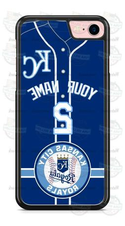 KANSAS CITY ROYALS BASEBALL CUSTOMIZED PHONE CASE FITS iPHON