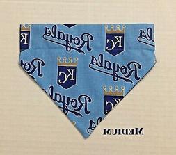 Kansas City Royals Baseball MLB Over Collar Slide On Pet Dog