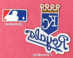 Kansas City royals Baseball Patch for iron and sewing on Fab