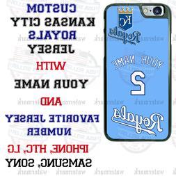 KANSAS CITY ROYALS BASEBALL PERSONALIZED PHONE CASE FOR iPHO