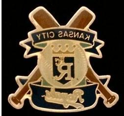 Kansas City Royals Baseball Pin Badge ~ MLB ~ Cross Bats