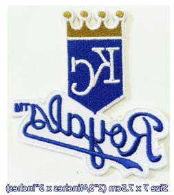 Kansas City Royals Baseball Sport Embroidery Patch logo iron