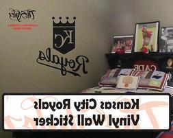 Kansas City Royals Baseball Vinyl Wall Sticker