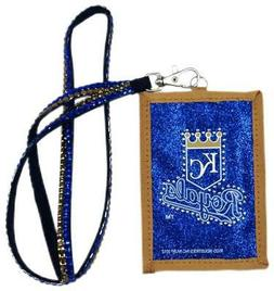 Kansas City Royals Beaded Lanyard Wallet  MLB Jewelery Neckl
