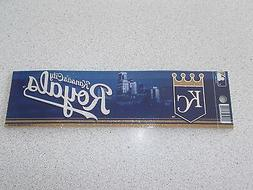 "KANSAS CITY ROYALS ""BLING"" BUMPER STICKER"