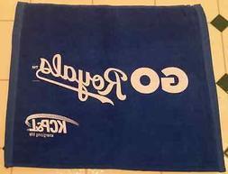 Kansas City Royals Blue Rally Towel-Postseason Go Royals Pla