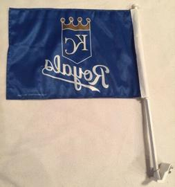 KANSAS CITY ROYALS Car Flag Banner, Two-Sided, Well Made, ML