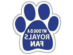 3 Kansas City Royals Car Magnets My Dog Is A Royals Fan Paw