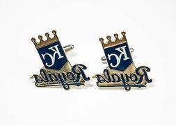 Kansas City Royals Cufflinks MLB Baseball