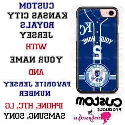 KANSAS CITY ROYALS CUSTOM PHONE CASE COVER FOR iPHONE SAMSUN