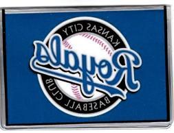 KANSAS CITY ROYALS Debit Card Holder w/note pad  DCN7