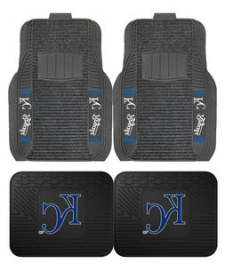 Kansas City Royals Deluxe Auto Floor Mats - Car, Truck, SUV