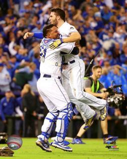 Kansas City Royals Eric Hosmer & Salvador Perez Photo Pictur