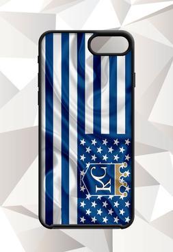 KANSAS CITY ROYALS FLAG IPHONE 5 6 7 8 X PLUS  CASE FREE SHI