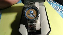 Kansas City Royals Game Time  Wrist Watch ADULT SILVER BAND