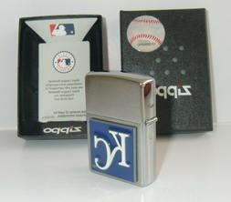 Kansas City Royals Genuine Zippo Lighter 3-D Enameled Logo L