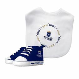 Kansas City Royals Infant Baby Bib & Pre-Walker Shoes Set **