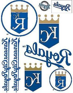 Kansas City Royals Iron On T Shirt / Pillowcase Transfer Set