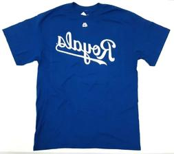 Kansas City Royals KC Mens Cotton Team Pride T-Shirt - New w