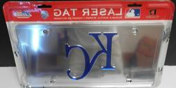 Kansas City Royals Laser License Plate Frame. Very sharp loo