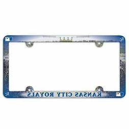 kansas city royals license plate frame full