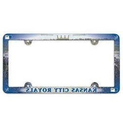 kansas city royals license plate frame full