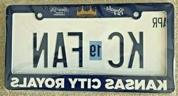 Kansas City Royals License Plate Holder Frame - Brand New Se