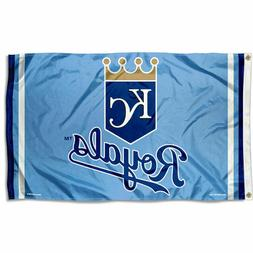 Kansas City Royals Logo 3x5 Banner Flag