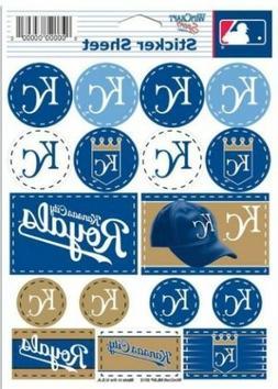 Kansas City Royals ~ Lot of  Stickers ~ 5x7 Inch Sheet