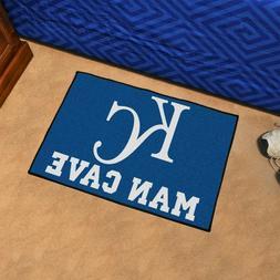 "Kansas City Royals Man Cave 19"" X 30"" Starter Area Rug Floor"
