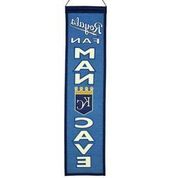 kansas city royals man cave banner pennant