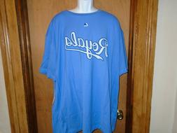 Kansas City Royals Men's Majestic Big & Tall Light Blue Size