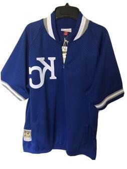 Kansas City Royals Mitchell & Ness Batting Practice Jacket J