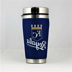 Kansas City Royals MLB 16oz Travel Tumbler Coffee Mug Cup