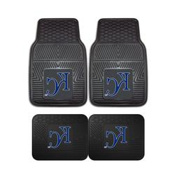 Kansas City Royals MLB 2pc and 4pc Mat Sets - Heavy Duty-Car