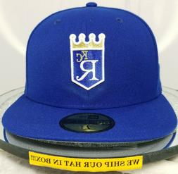Kansas City Royals~MLB~New Era~59FIFTY~Cooperstown~Coop Wool