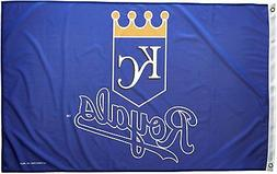 Kansas City Royals MLB Banner Flag 3' x 5'  ~NEW