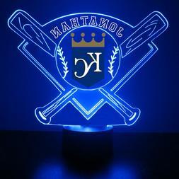 Kansas City Royals Light Up, MLB Baseball LED Sports Fan Lam