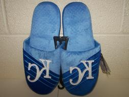 Kansas City Royals MLB Big Logo Slide on Mens Slippers