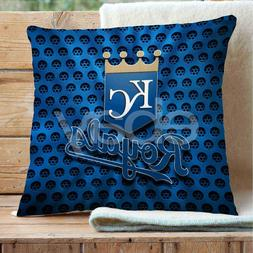 Kansas City Royals MLB Custom Pillows Car Sofa Bed Home Deco