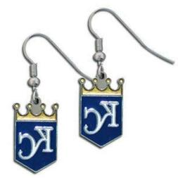 Kansas City Royals MLB Dangle Ear Rings