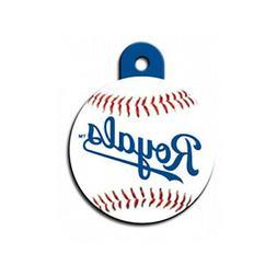 Kansas City Royals MLB Dog/Pet ID Tag--Custom Engraved--FREE